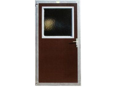Stalltür mit Betoplan-Füllung und starrem Fenster