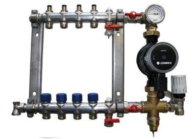 Warmwasser-Verteiler