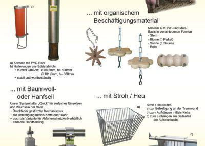 Beschäftigungsmaterial organisch
