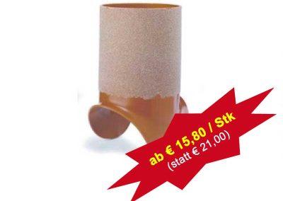 PVC Aufklebestutzen für Güllekanal – versch. Formate