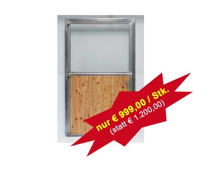 STEWA Pferde-/Paddock-Türen aus Niro – 220 x 120 cm