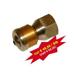 Rohr-Reinigungsdüse rotierend – 1/4″ IG – für Hochdruck-Reiniger